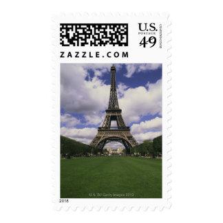 Eiffel Tower Paris France 3 Postage Stamp