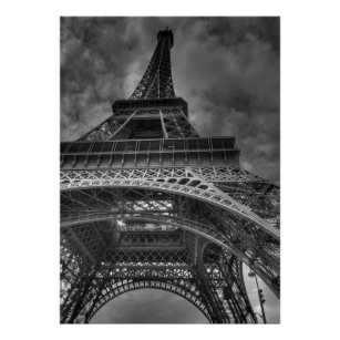 France picture photo art living room black and white photography art print office street ENVIE decoration Paris poster mural