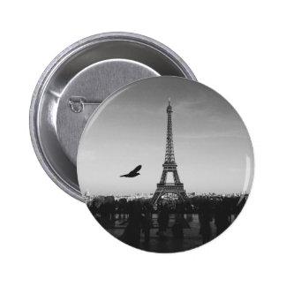 Eiffel Tower Paris France 2 Inch Round Button