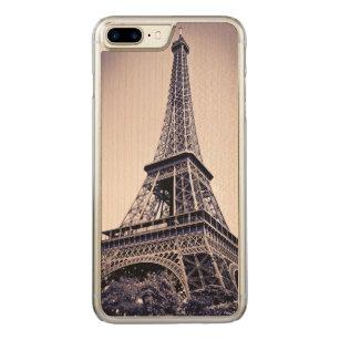 Eiffel tower, Paris, France Carved iPhone 8 Plus/7 Plus Case