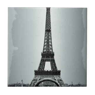 Eiffel Tower Paris France Ceramic Tile