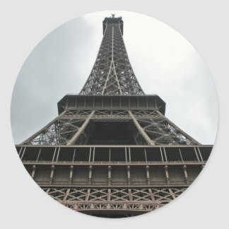 Eiffel Tower Paris, France Classic Round Sticker