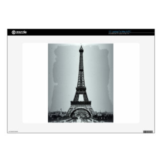 "Eiffel Tower Paris France Decal For 15"" Laptop"