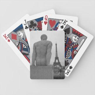 Eiffel Tower, Paris France Deck of Cards