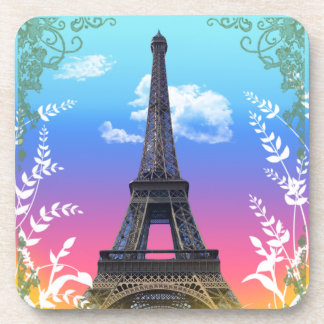 eiffel-tower-paris-france drink coaster