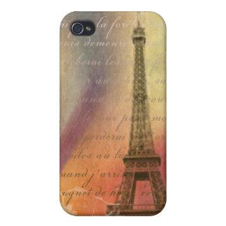Eiffel tower Paris France iPhone 4/4S Cover