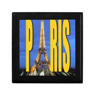 Eiffel Tower Paris France Keepsake Box