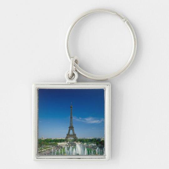 Eiffel Tower, Paris, France Keychain