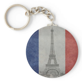 Eiffel tower, Paris France Keychain