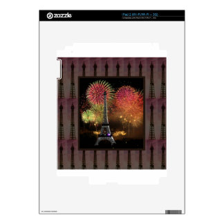 EIFFEL TOWER Paris France Landmark Photography tow Skin For The iPad 2