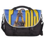 Eiffel Tower Paris France Laptop Shoulder Bag