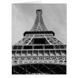 Eiffel Tower, Paris, France Large Greeting Card
