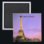 "EIFFEL TOWER, PARIS FRANCE MAGNET<br><div class=""desc"">EIFFEL TOWER AT NIGHT..</div>"