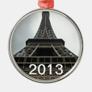 Eiffel Tower Paris, France Metal Ornament