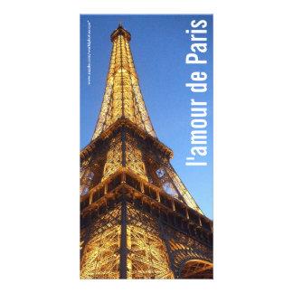 Eiffel Tower Paris France Photo Card