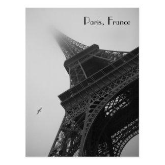 Eiffel Tower Paris France Post Card