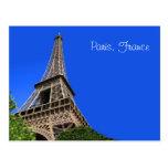 Eiffel Tower, Paris France Postcard