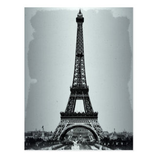Eiffel Tower Paris France Postcard