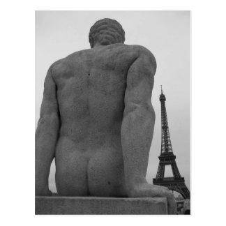 Eiffel Tower, Paris France Postcard II