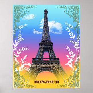 eiffel-tower-paris-france poster