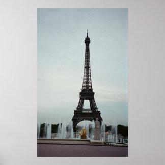 Eiffel Tower - Paris, France Poster