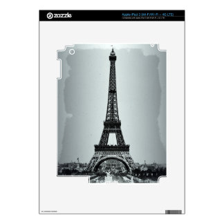 Eiffel Tower Paris France Skins For iPad 3