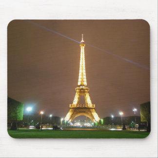 Eiffel Tower Paris France - Springtime Vacation Mouse Pad