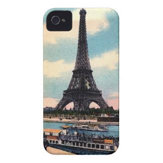 Eiffel Tower Paris France Vintage Travel iPhone 4 Case-Mate Cases