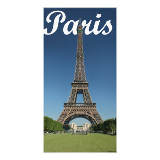 Eiffel Tower, Paris, France with Paris in the Sky Card