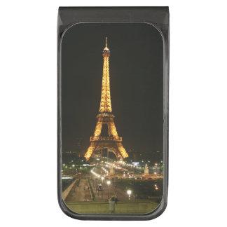 Eiffel tower, Paris Gunmetal Finish Money Clip
