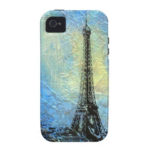 Eiffel Tower 'Paris in February' Case-Mate iPhone 4 Cases