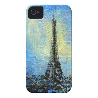 Eiffel Tower 'Paris in February' iPhone 4 Case-Mate Case
