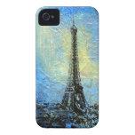 Eiffel Tower 'Paris in February' iPhone 4 Cases