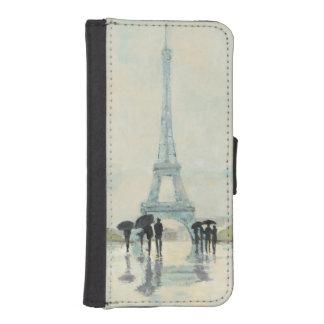Eiffel Tower | Paris In The Rain iPhone SE/5/5s Wallet