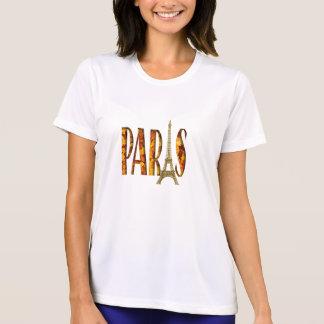 Eiffel Tower Paris Leaves T-shirt