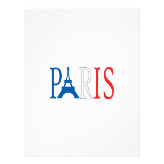 EIFFEL TOWER PARIS LETTERHEAD