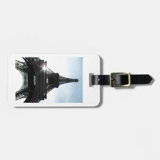 Eiffel Tower Paris Bag Tag