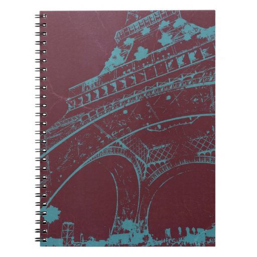 Eiffel Tower Paris Notebooks