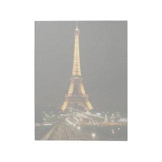 Eiffel tower, Paris Note Pads