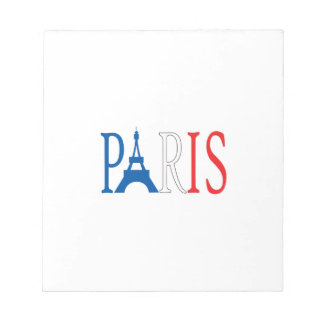 EIFFEL TOWER PARIS NOTEPAD