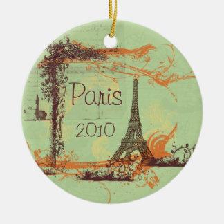 Eiffel Tower Paris Ornament