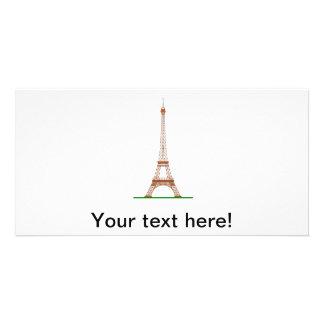 Eiffel Tower, Paris Photo Card Template