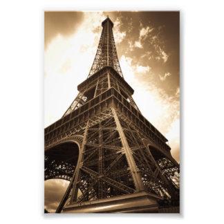 Eiffel tower Paris Photographic Print