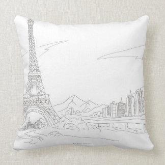 Eiffel Tower, Paris Pillow