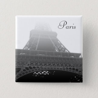 Eiffel tower Paris Pinback Button