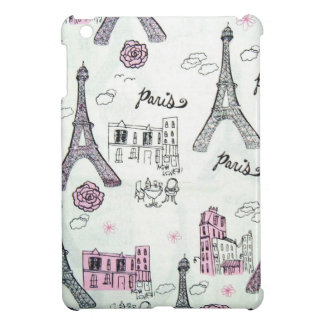 Eiffel Tower Paris Pink Cover For The iPad Mini