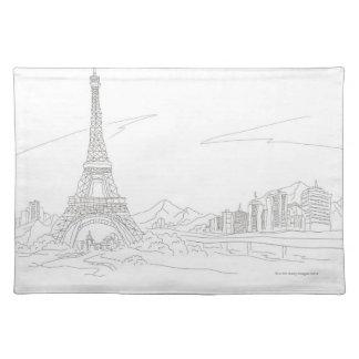 Eiffel Tower, Paris Placemat