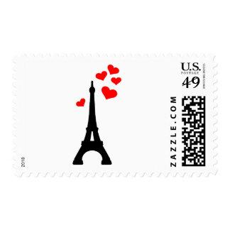 Eiffel Tower Paris Postage