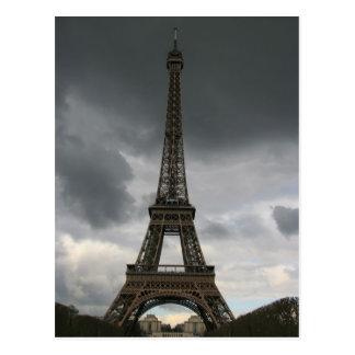 Eiffel Tower, Paris Postcard
