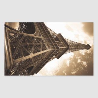 Eiffel tower Paris Rectangular Sticker